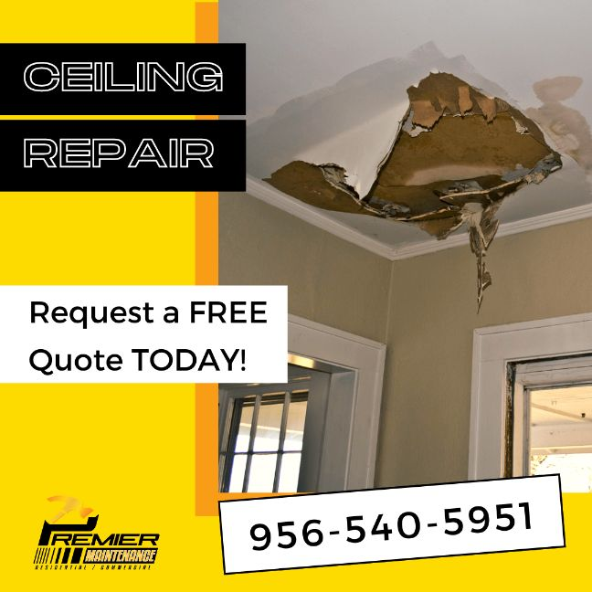 ceiling repair mcallen tx